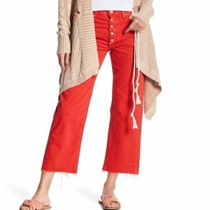 Free People Rolling On The River Jeans 26 New